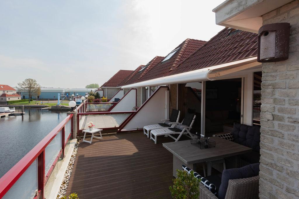Leuke vakantiewoning in Hasselt met een gezellig terras - Boerderijvakanties.nl