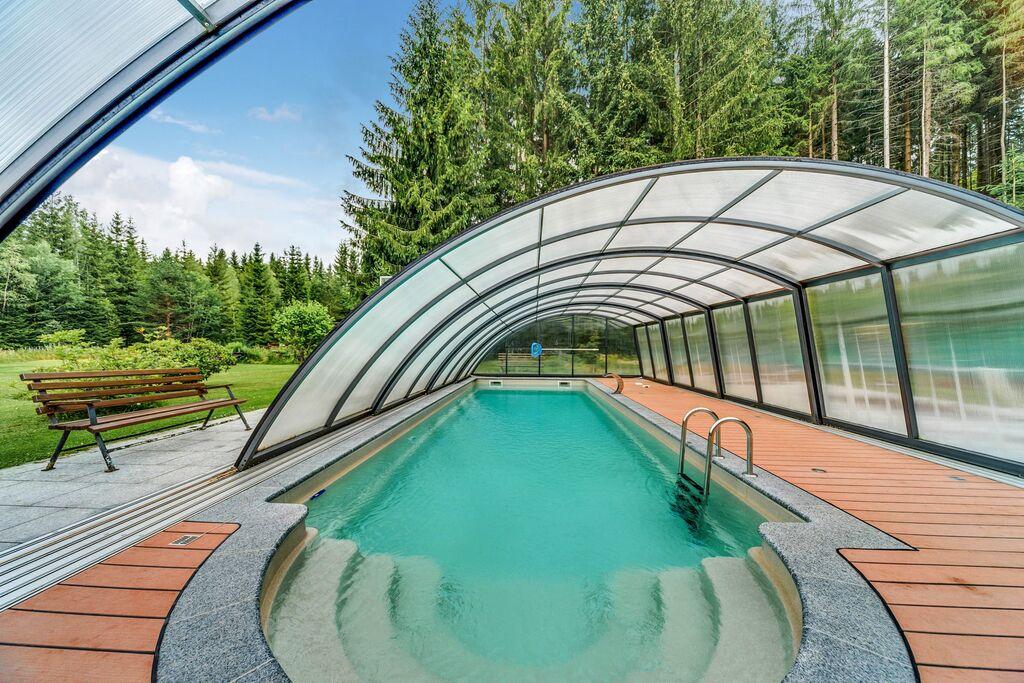 Schitterend appartement in Jägersgrün met een zwembad - Boerderijvakanties.nl