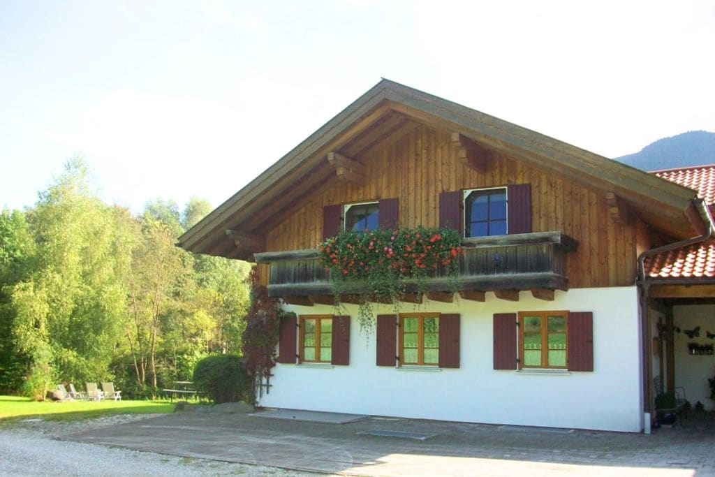 Appartement huren in Beieren -   met wifi  voor 4 personen  Op circa 30 km. van Garmisch-Parte..