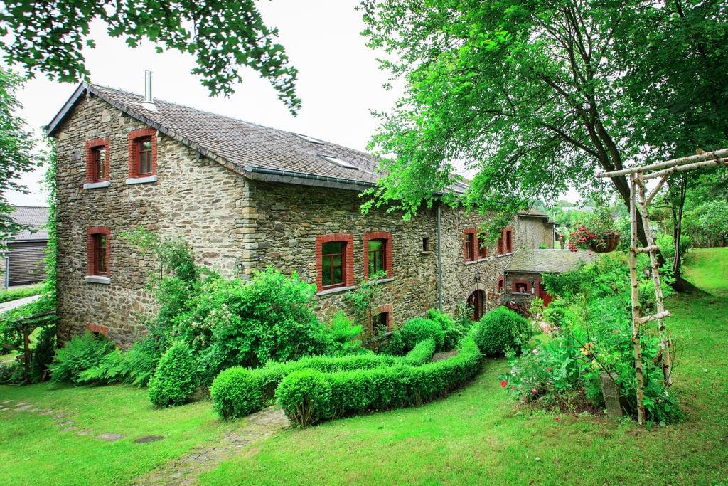 Authentieke cottage in de Ardennen met speeltoestellen - Boerderijvakanties.nl