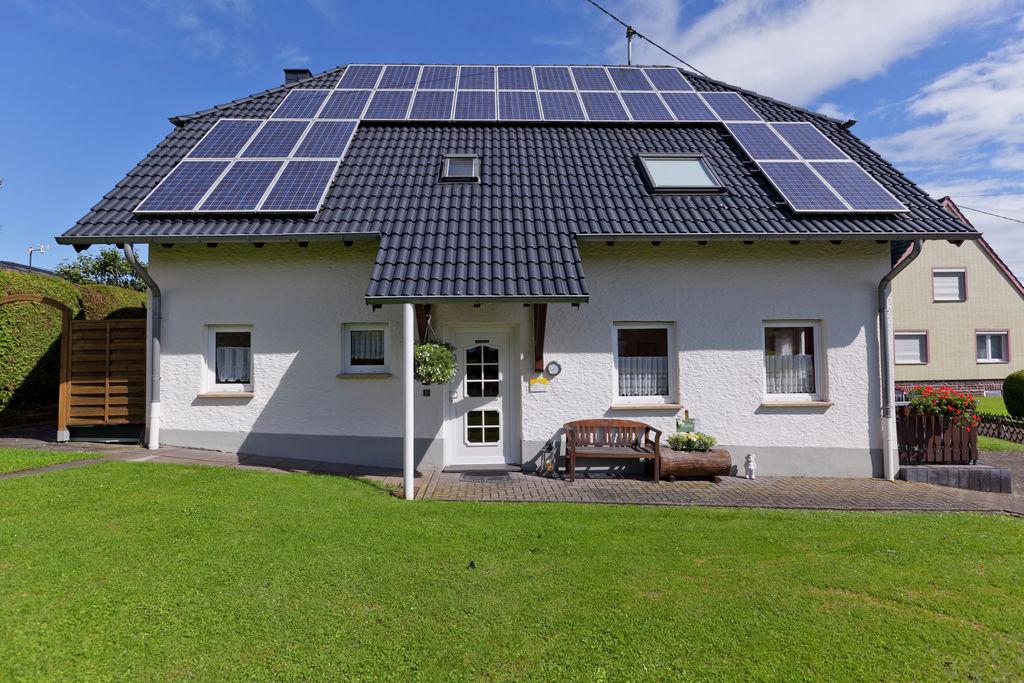 Landelijk appartement in Duitsland met een sauna - Boerderijvakanties.nl