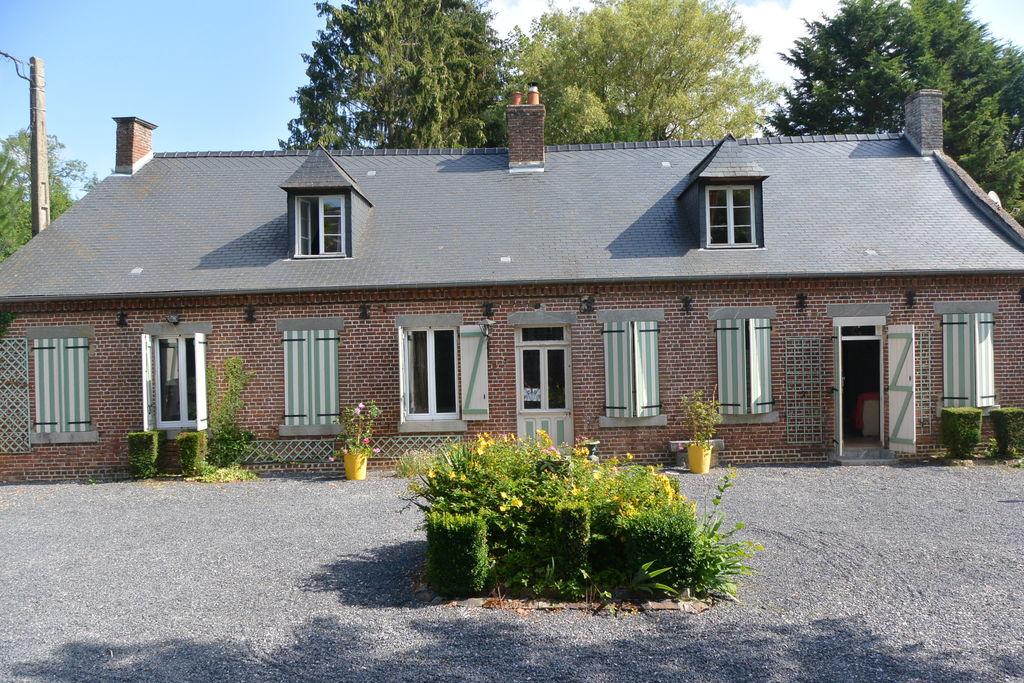 Kindvriendelijke cottage op de heuvels in Englancourt - Boerderijvakanties.nl