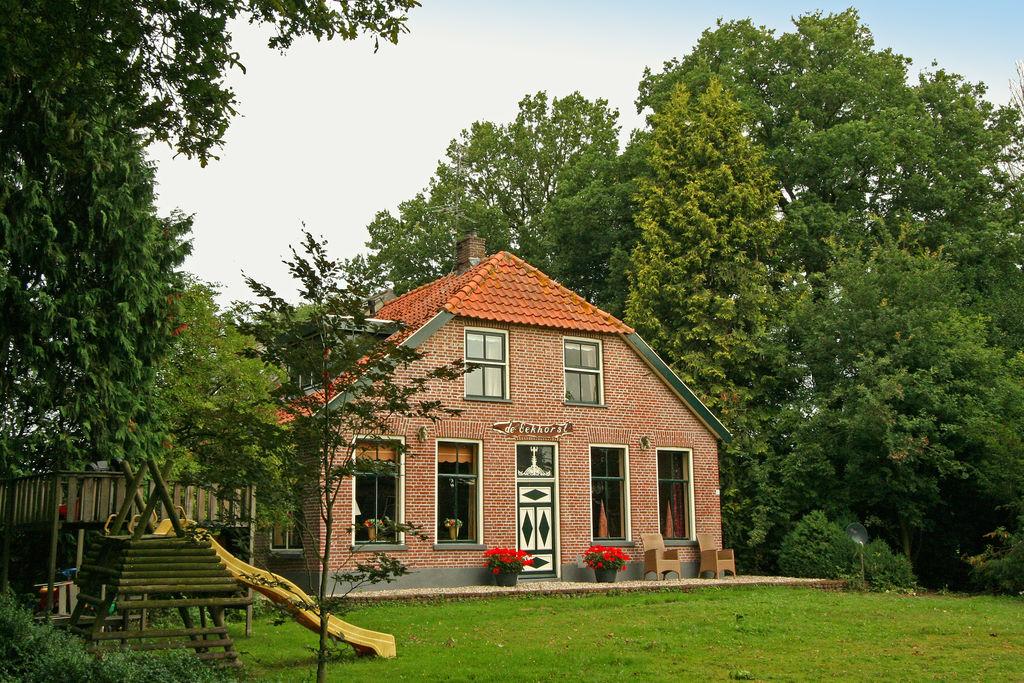 Sfeervolle woonboerderij in het prachtige Reestdal - Boerderijvakanties.nl