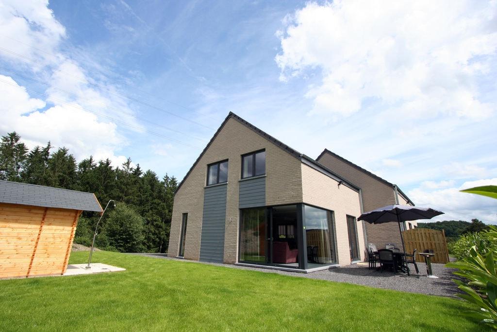 Ruime vakantiewoning met prachtig uitzicht bij Barvaux-sur-Ourthe - Boerderijvakanties.nl