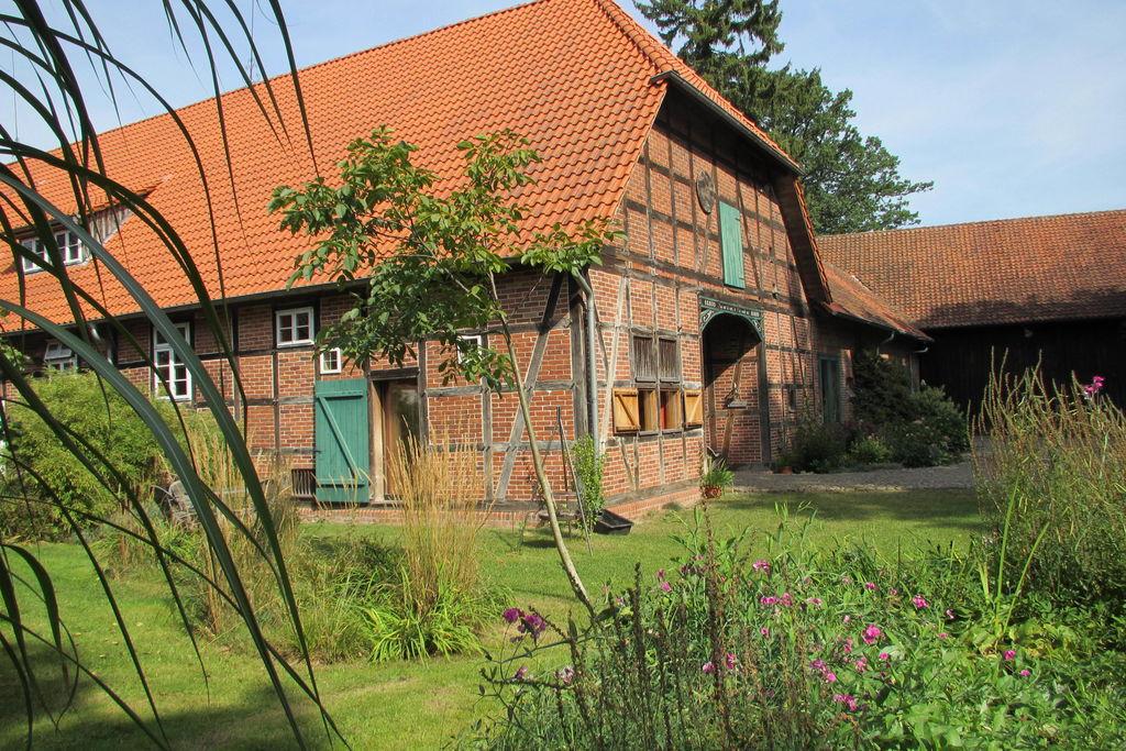 Luxe appartement in Hohnebostel met een privétuin - Boerderijvakanties.nl