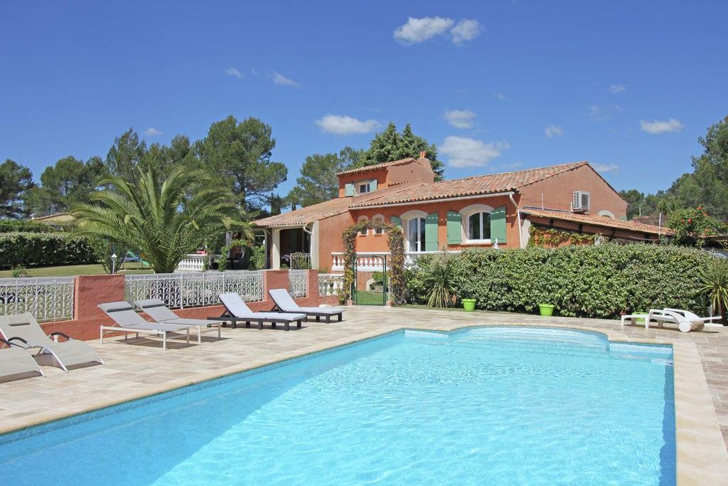 Grote villa met privézwembad en grote tuin in bosrijke natuur, stranden van Frejus op 15km - Boerderijvakanties.nl