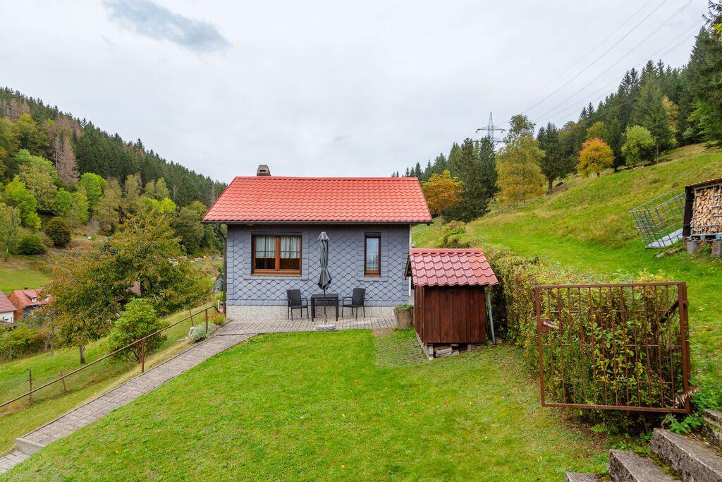Schattig vakantiehuis in Langenbach met privétuin en terras - Boerderijvakanties.nl
