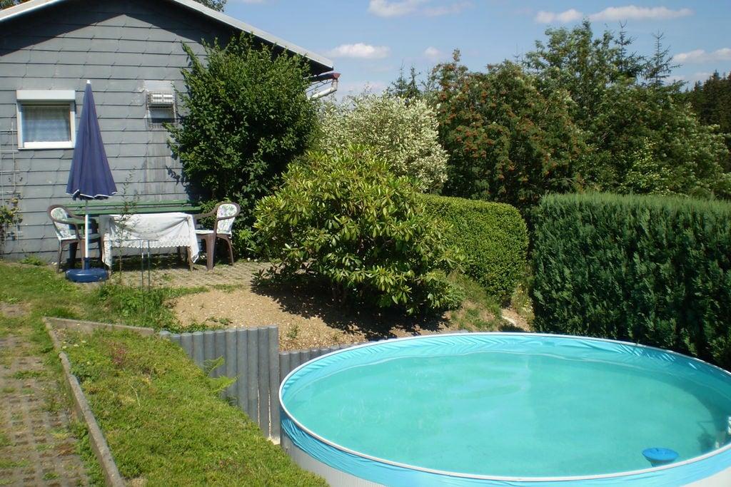 Vrijstaande vakantiewoning met eigen zwembad en prachtig uitzicht in Thüringen - Boerderijvakanties.nl