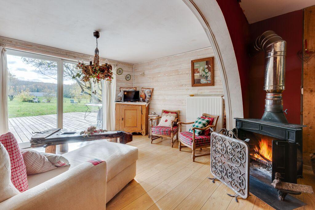 Elegant appartement dicht bij het bos in Niderviller, Frankrijk - Boerderijvakanties.nl