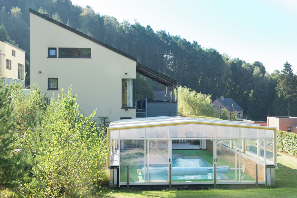 Landelijk gelegen villa in de Ardennen met buitenzwembad - Boerderijvakanties.nl