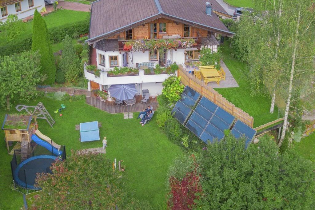 Verzorgde vakantiewoning in Leogang met trampoline - Boerderijvakanties.nl