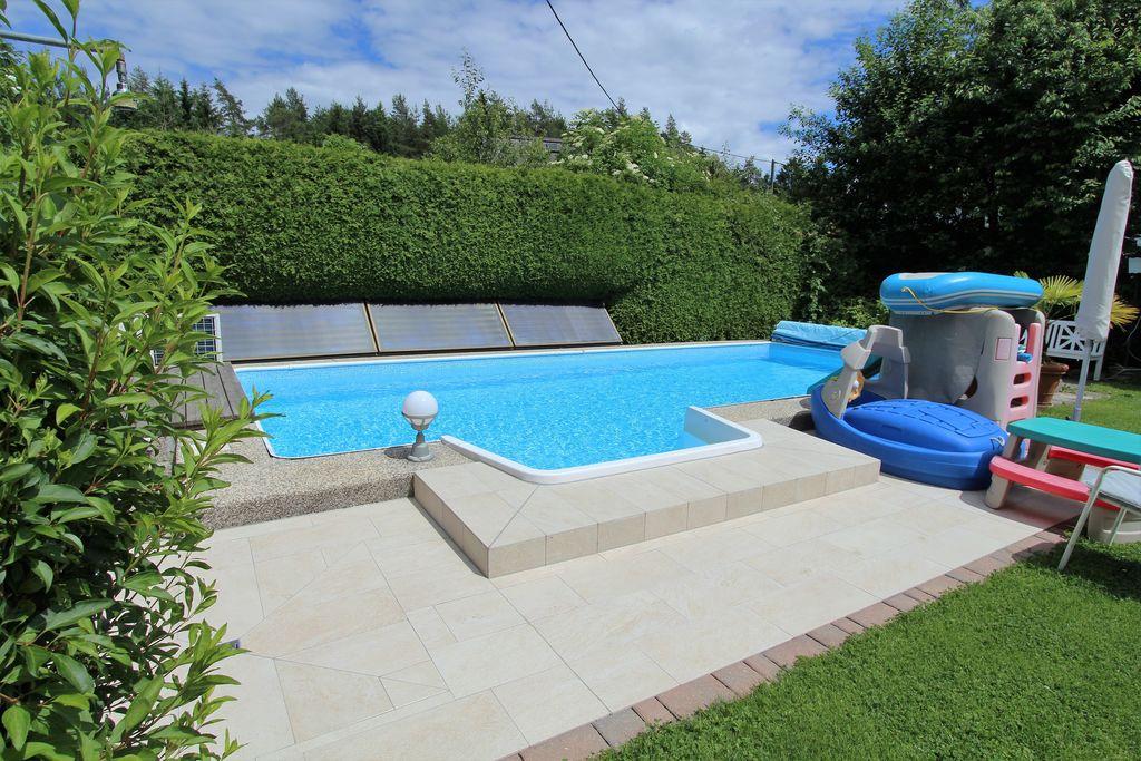 Gezellig appartement in Gerlitzen met zwembad - Boerderijvakanties.nl
