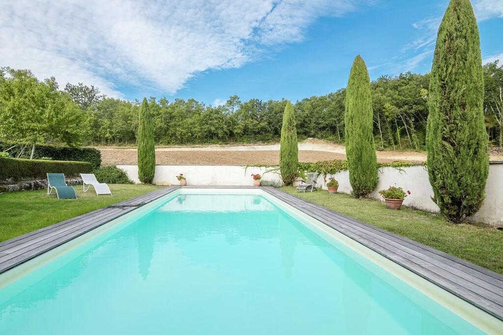 Knus vakantiehuis met zwembad, vlakbij Saint-Émilion - Boerderijvakanties.nl