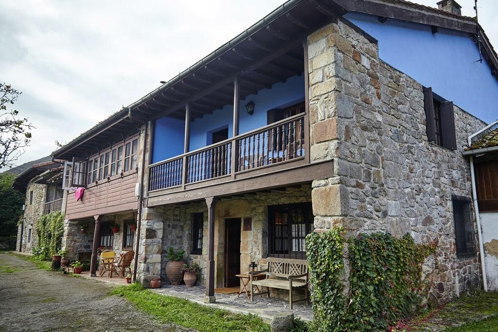 Mooi landhuis met een prachtig uitzicht op de bergen van Asturië - Boerderijvakanties.nl