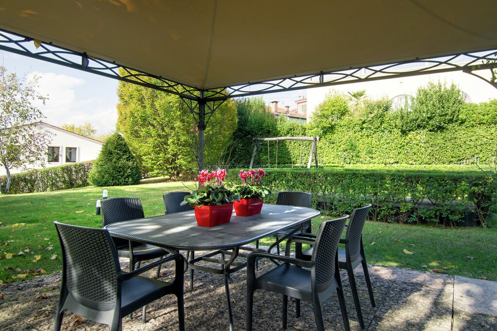Historisch appartement met tuin in Montebello Vicentino - Boerderijvakanties.nl