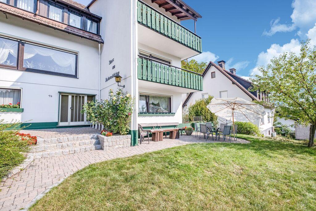 Groot appartement met eigen terras en tuin in de buurt van Willingen - Boerderijvakanties.nl