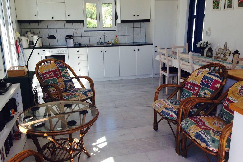 Vrijstaande villa in prachtige Agia Fotia baai, enkele minuten van zee - Boerderijvakanties.nl