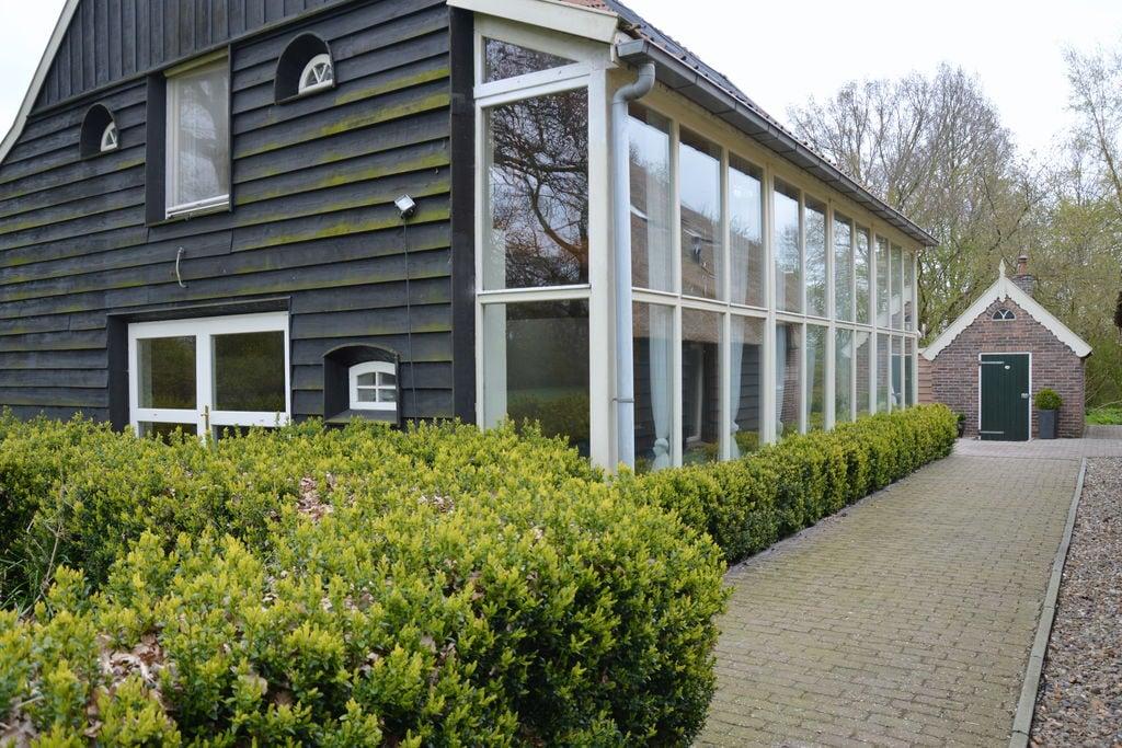 Landelijke vakantiewoning in Balkbrug met een zwembad - Boerderijvakanties.nl