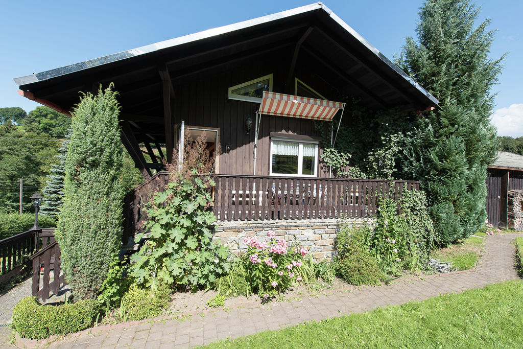 Gezellig vakantiehuis in het Ertsgebergte met grote tuin en terras - Boerderijvakanties.nl