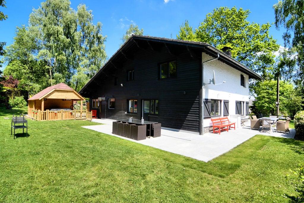 Luxueus vakantiehuis in vroeger jachtchalet met sauna, jacuzzi en ruime tuin - Boerderijvakanties.nl