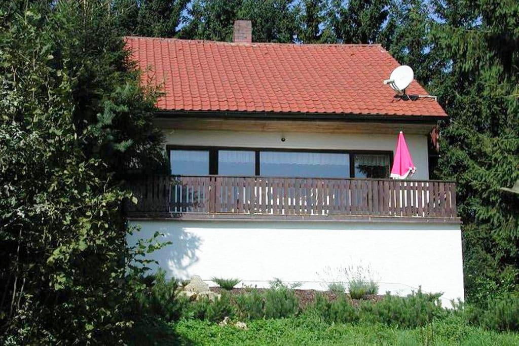 Mooi vakantiehuis in Beieren met balkon met uitzicht - Boerderijvakanties.nl