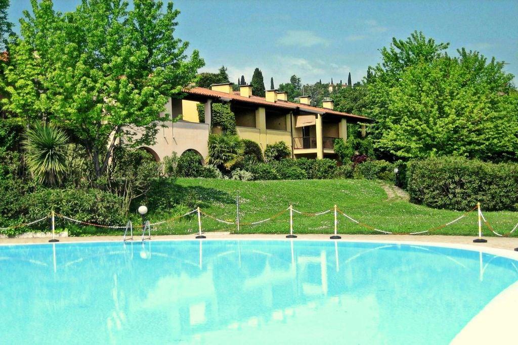 Gezellig appartement in Polpenazze del Garda met grote tuin - Boerderijvakanties.nl