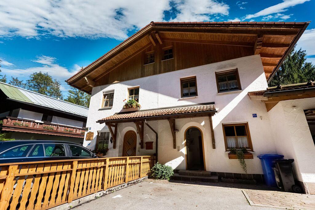 Appartement in het Berchtesgadener Land met balkon en uitzicht op de Watzmann - Boerderijvakanties.nl