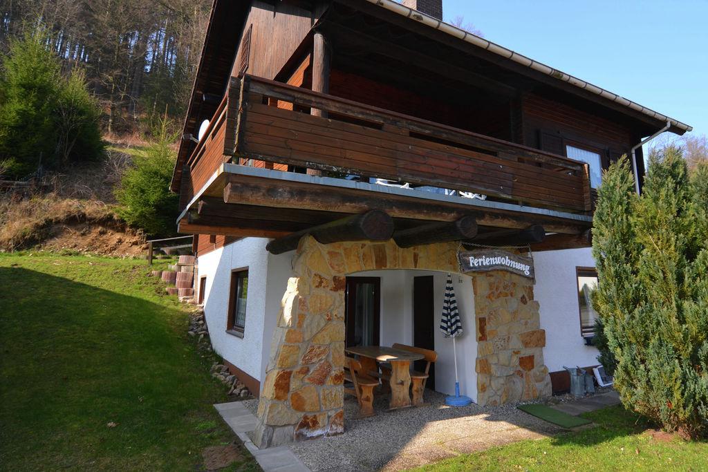 Appartement met overdekt terras in de prachtige Harz - Boerderijvakanties.nl