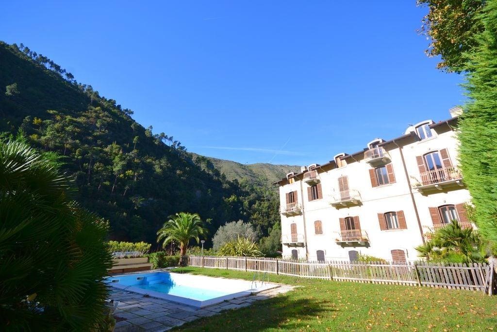 Airole- Vakantiewoning met zwembad  met wifi te huur