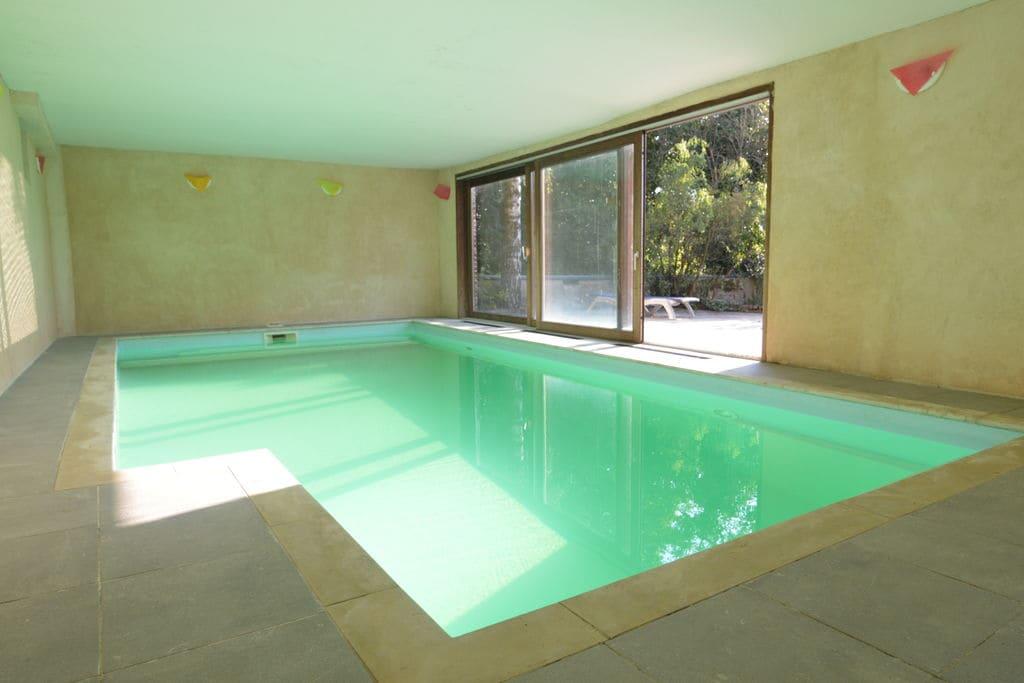 Vakantiewoning huren in Henegouwen - met zwembad  met wifi met zwembad voor 5 personen  Deze prachtige architecturale woni..
