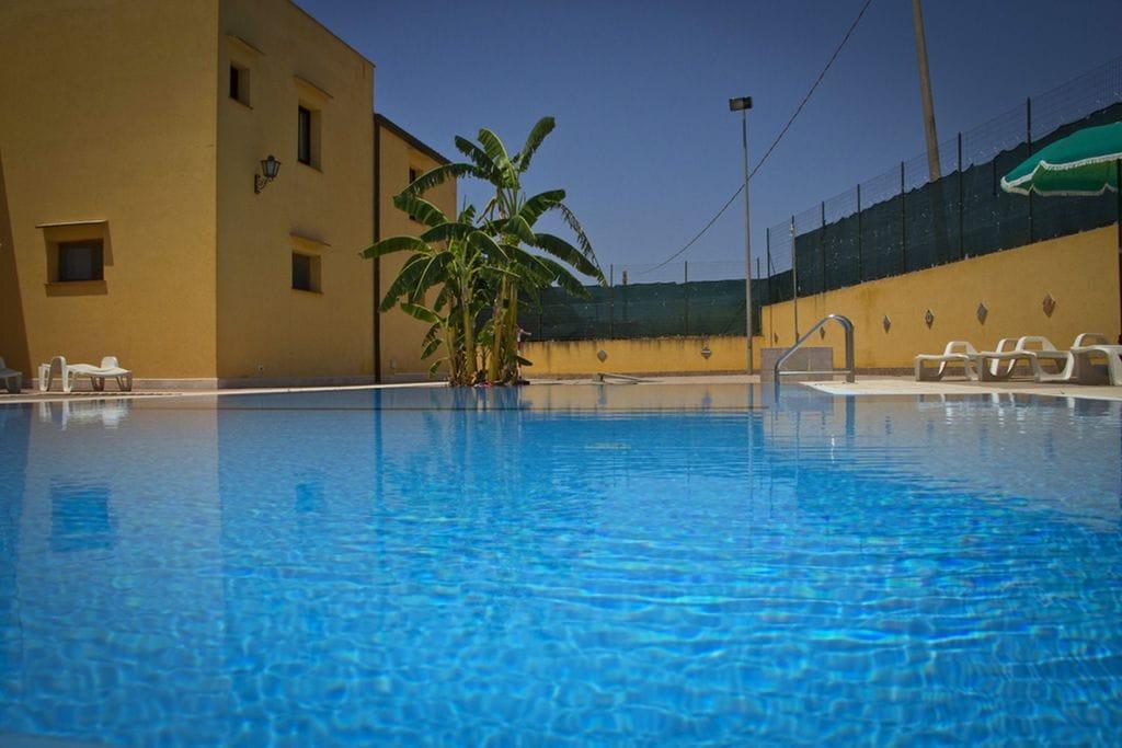 Vakantiewoning  huren Castellammare-del-Golfo - Appartement IT-91014-32 met zwembad  met wifi