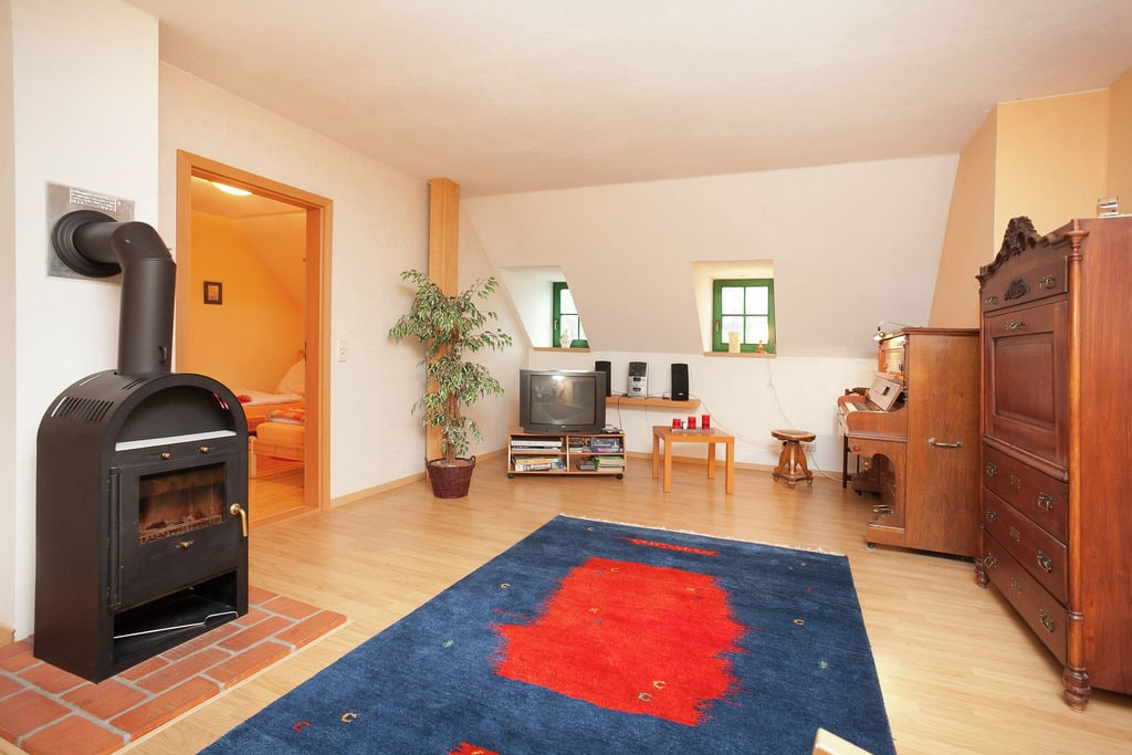 Mooi appartement met sauna en zonnebank op een toplocatie in het Ertsgebergte - Boerderijvakanties.nl