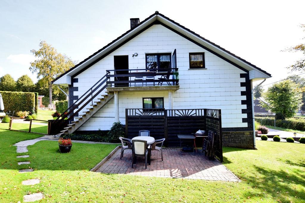 Comfortabel appartement in de Ardennnen met grote tuin - Boerderijvakanties.nl