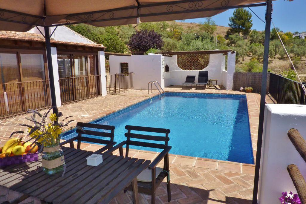 Gezellig vakantiehuis in Andalusië met privézwembad - Boerderijvakanties.nl