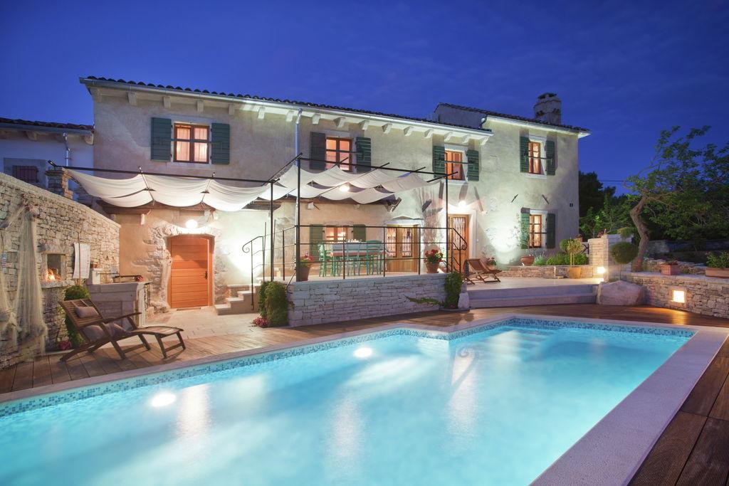 Comfortabele villa in Istrië vlak bij het strand - Boerderijvakanties.nl