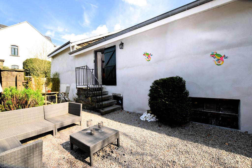 Zeer karaktervolle en sfeerrijke geschakelde woning met wifi, nabij Luxemburg - Boerderijvakanties.nl