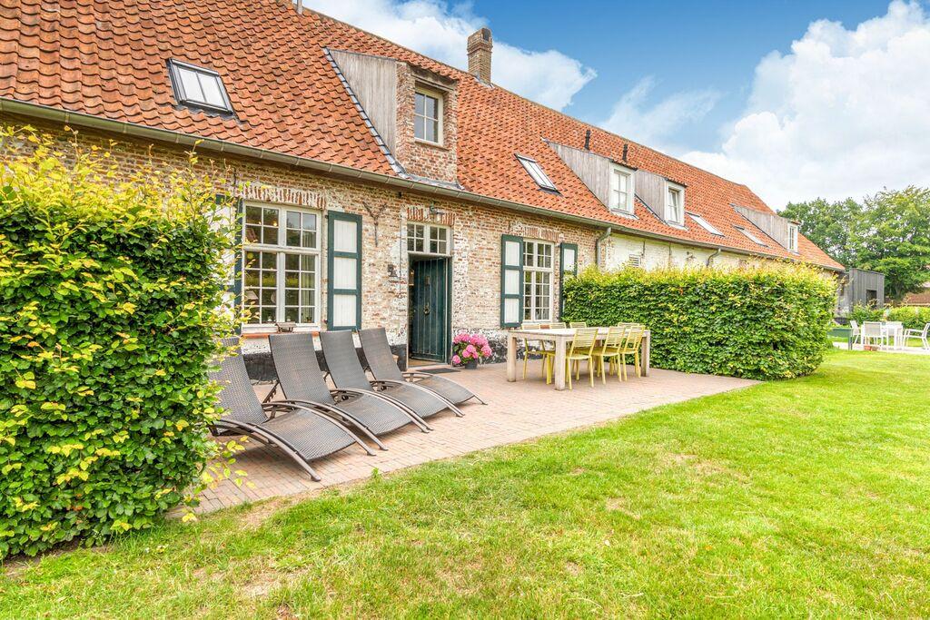 Authentiek vakantiehuis in de Damme op een hoevecomplex - Boerderijvakanties.nl