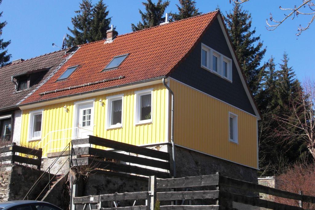 Landelijke vakantiewoning met een privéterras in de Harz - Boerderijvakanties.nl