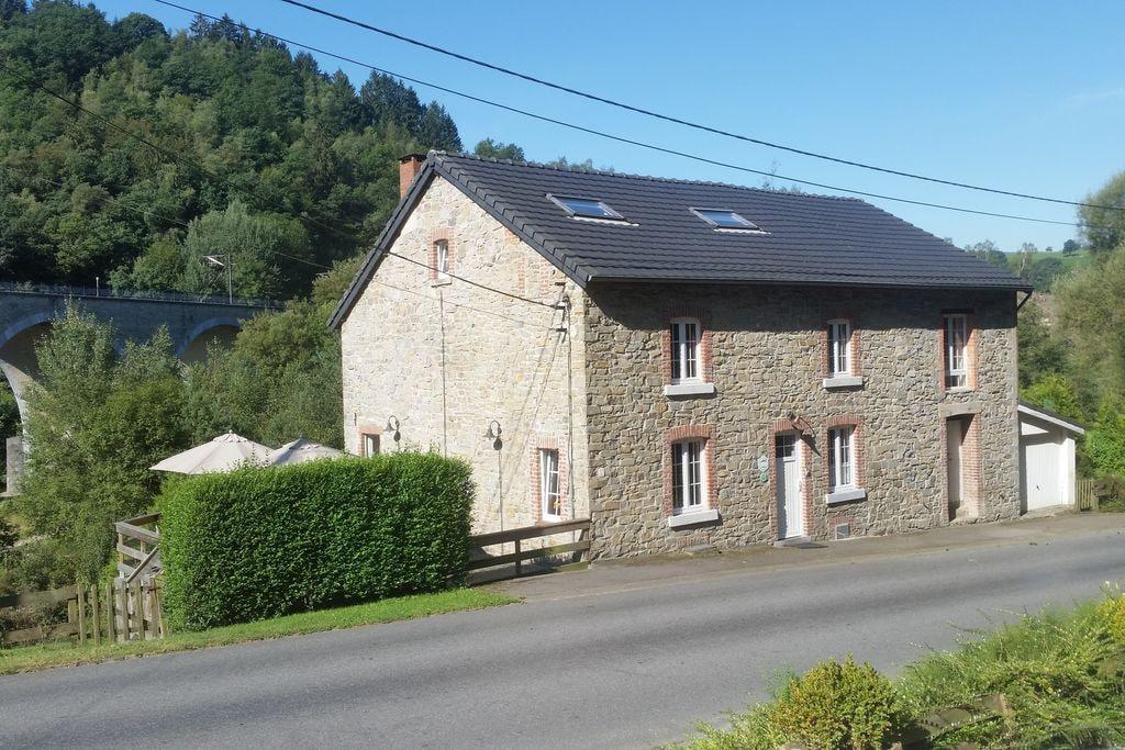 Gezellig vakantiehuis in Stoumont met sauna - Boerderijvakanties.nl