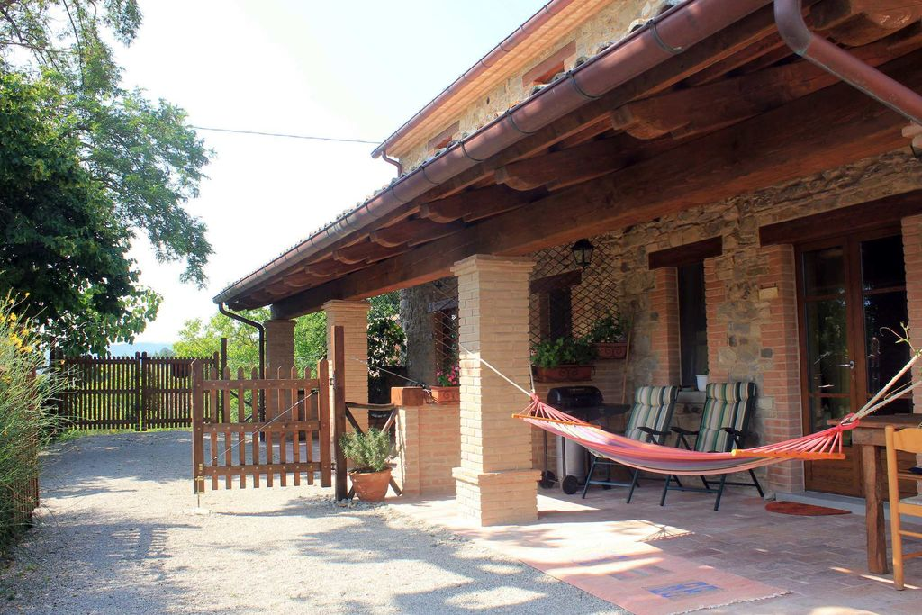 Fijn appartement in de Apennijnen met een tuin en barbecue - Boerderijvakanties.nl