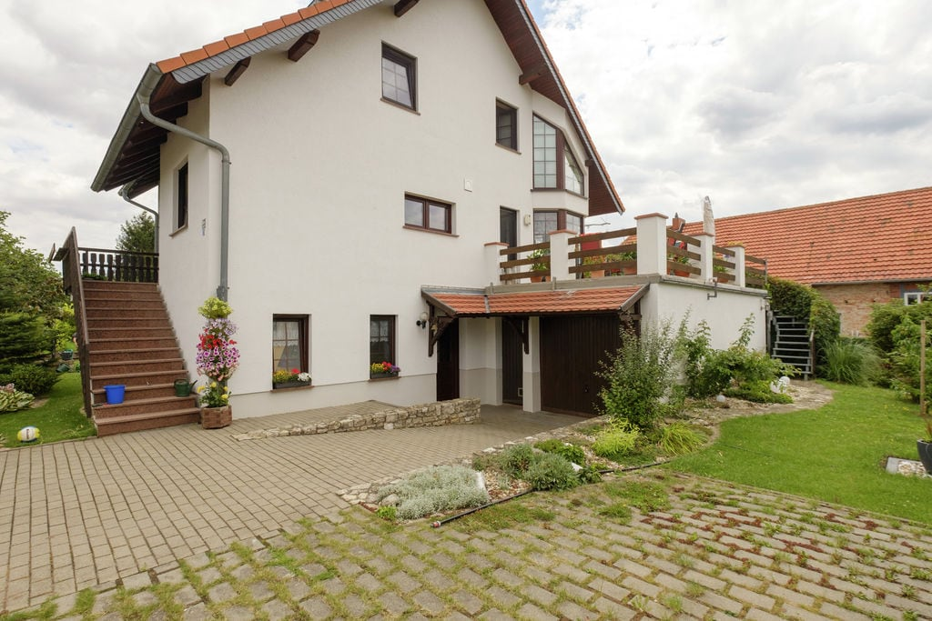 Mooi inpandig appartement met terras gelegen aan de fiets-wandelroute R1 in de Harz - Boerderijvakanties.nl