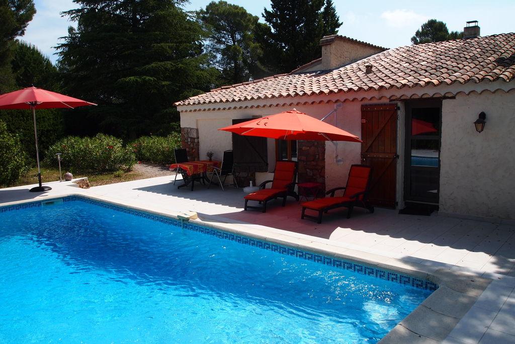 Gezellig ingericht vakantiehuis met privézwembad, 15 km van de Middellandse Zee - Boerderijvakanties.nl