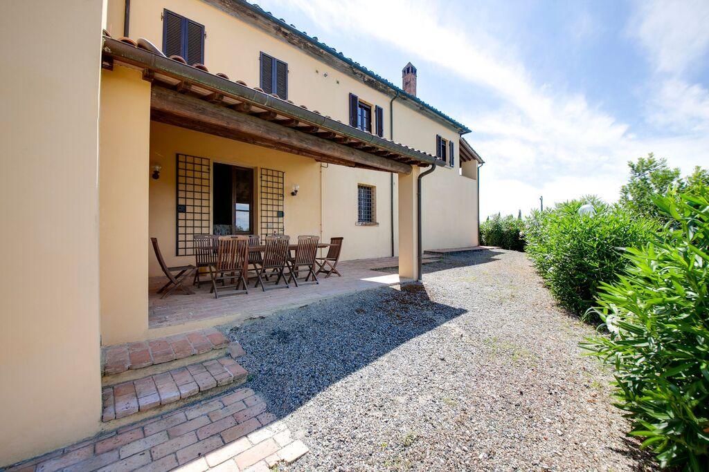 Gezellig appartement in Toscane met een heerlijk zwembad - Boerderijvakanties.nl
