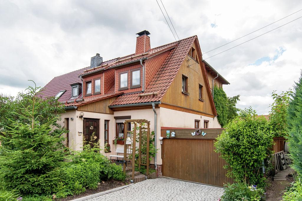 Vakantiewoning  huren Thuringen - Appartement DE-98544-02   met wifi