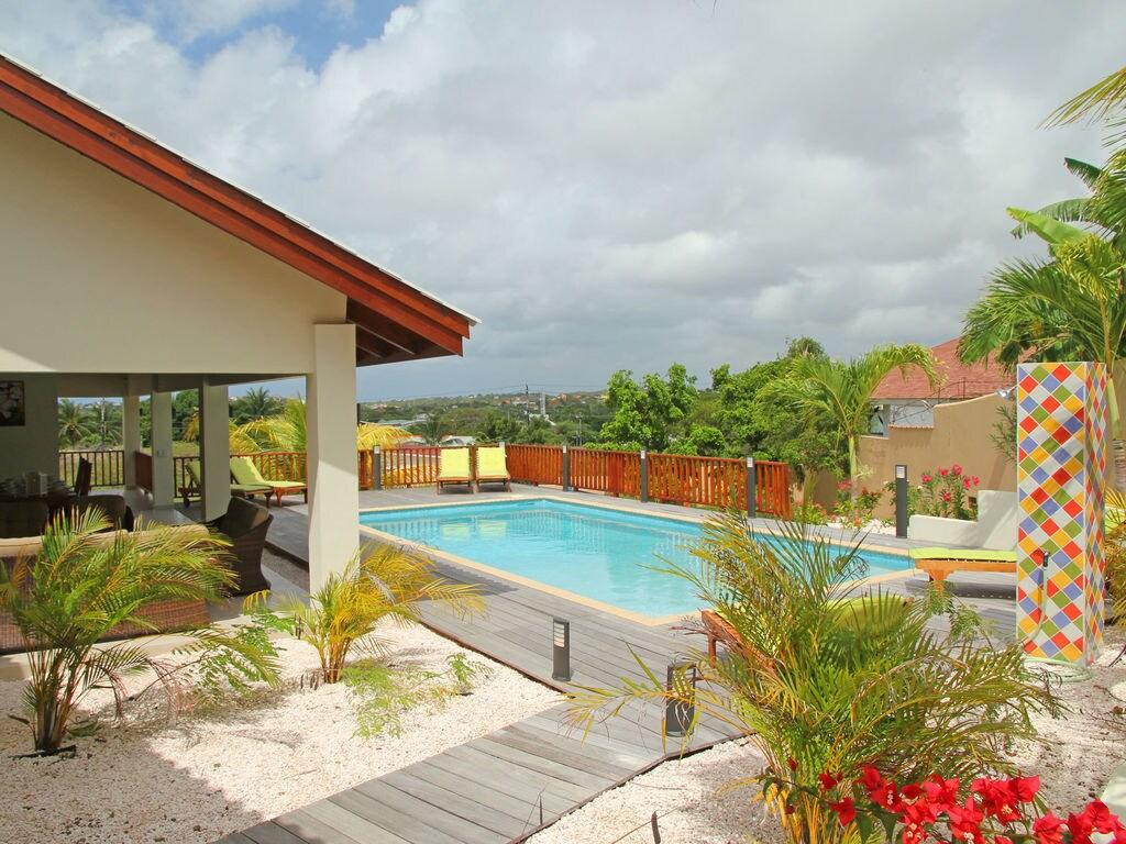 Moderne Villa mit Pool in Willemstad Ferienhaus in Mittelamerika und Karibik