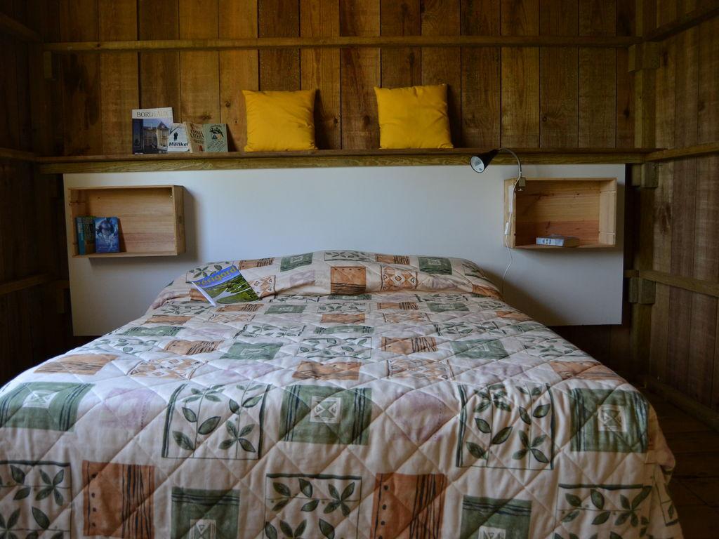 Maison de vacances Komfortables Holzhäuschen in der Dordogne (809207), Pineuilh, Gironde, Aquitaine, France, image 4
