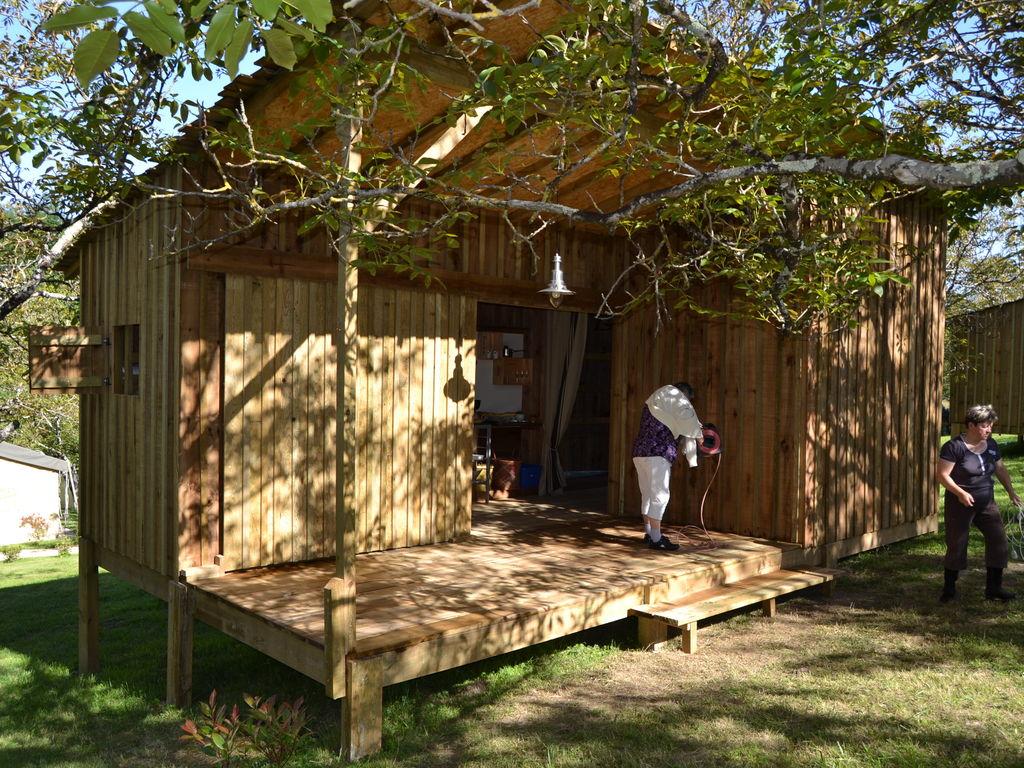 Maison de vacances Komfortables Holzhäuschen in der Dordogne (809207), Pineuilh, Gironde, Aquitaine, France, image 9