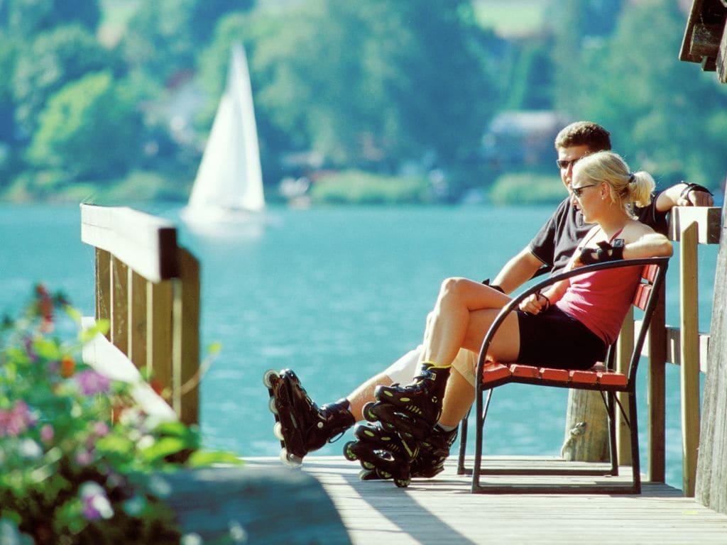 Appartement de vacances Bernadette 2 (846471), Eberndorf, Lac Klopein, Carinthie, Autriche, image 22