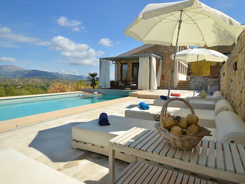 Ferienhaus Moderne Villa mit eigenem Pool in Selva Mallorca (1574315), Selva (ES), Mallorca, Balearische Inseln, Spanien, Bild 4