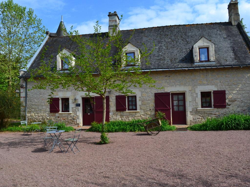 Ferienhaus Gemütliches Ferienhaus in Brion mit Schwimmbad (1658624), Beaufort en Vallée, Maine-et-Loire, Pays de la Loire, Frankreich, Bild 27